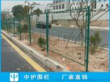 金平公路护栏网图片 工厂围墙防护网 工地铁丝网围栏