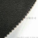 黑色摇粒绒贴合泡棉覆防水tpu膜复合白色定型纱