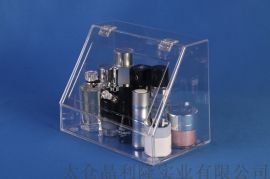 亚克力收纳盒有机玻璃展示架 晶利隆亚克力板定制