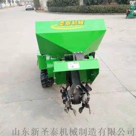 新型履带式旋耕施肥机 果园开沟除草机
