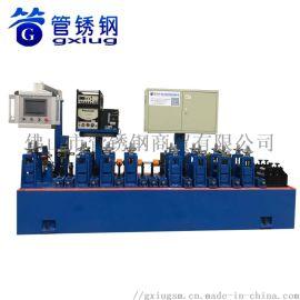 管锈钢装饰管焊管机设备