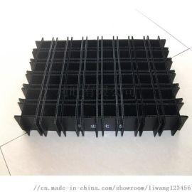 PP中空板黑色防静电中空隔板塑料瓦楞板材周转箱刀卡