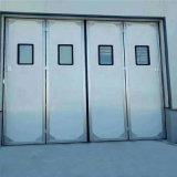 铝合金折叠门 多扇折叠门 工业电动折叠门