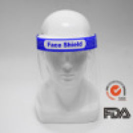 防飞沫防护面罩 高清透明成人全脸防溅面罩 防油面罩