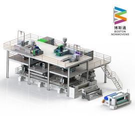 全自动纺粘SS无纺布1.8m生产线定制