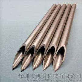 不锈钢管件磨尖 封口 扩口定制加工