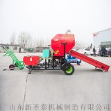 柴油新型青贮饲料打捆一体机 甘肃秸秆打捆包膜机