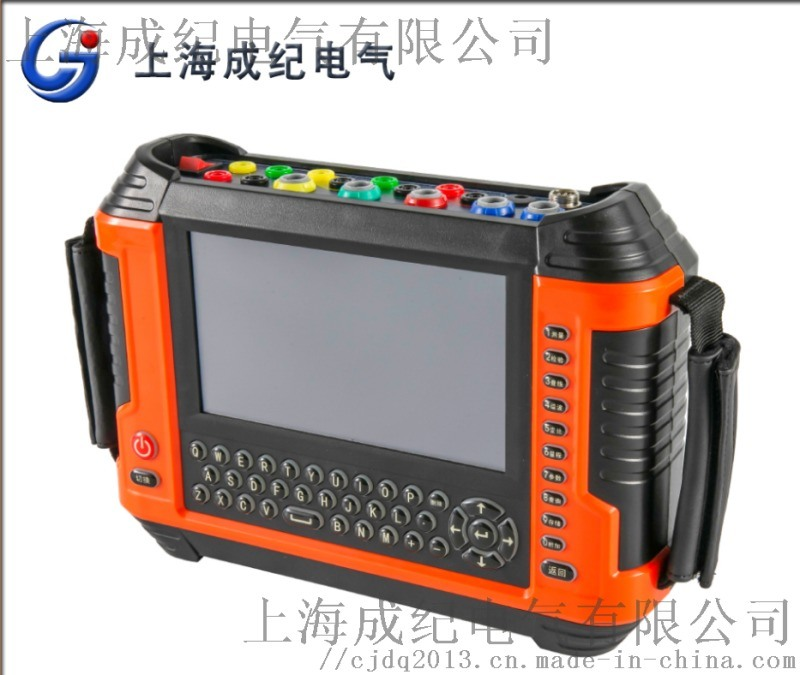 同步工屏諧波保護三相電能用電檢測儀