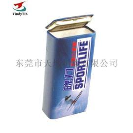 厂家定制口香糖小铁盒 马口铁小铁罐 方形小盒子