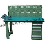 防靜電工作臺、簡易工作臺,帶掛板工作臺