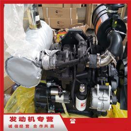 4缸康明斯发动机4BTAA3.9-C110马力总成
