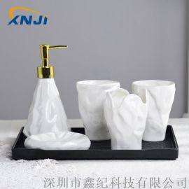 欧式卫浴五件套陶瓷卫浴**酒店用品