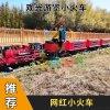 郑州百美新款景区网红电动小火车有轨观光小火车
