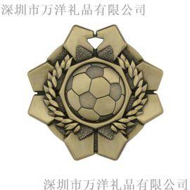 深圳厂家定制金属奖牌 2018广东省跆拳道协会奖章