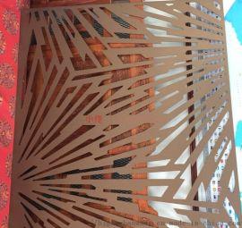 德宝隆1-4mm激光切割花案孔不锈钢冲孔装饰网