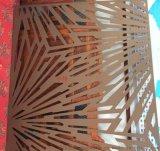德寶隆1-4mm鐳射切割花案孔不鏽鋼衝孔裝飾網