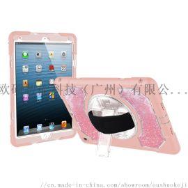 适用苹果iPad 10.5 粉色硅胶平板保护套