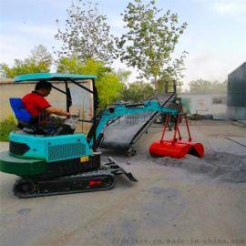管链提升机 自走式果树挖坑机 六九重工 果园小型