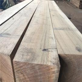 巴劳木圆柱子进口报价, 室外巴劳木木结构景观木材公司