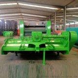 自动收割秸秆粉碎打捆机 拖拉机带收割粉碎打捆机