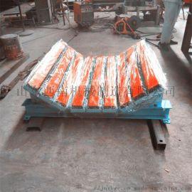 水泥皮带机新型防撒料缓冲床 抗冲击高弹聚乙烯缓冲床