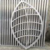 古式祠堂造型铝花格门窗 不规则造型镂空铝窗花