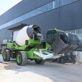 自動上料水泥攪拌車 小型水泥攪拌車 混凝土攪拌