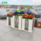 铝合金户外广场景观花箱 铝合金雕花面板花槽