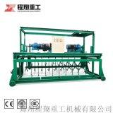 槽式翻抛机价钱,有机肥发酵全自动发酵床翻耙机设备