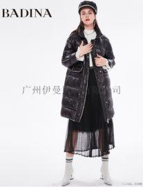 杭州一线女装芭蒂娜品牌折扣女装尾货批发实体直播货源