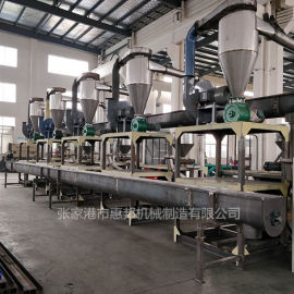 定制塑料磨粉破碎生产线