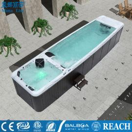 贵阳别墅温泉泳池-健身跑步泳池设施-恒温加热泳池