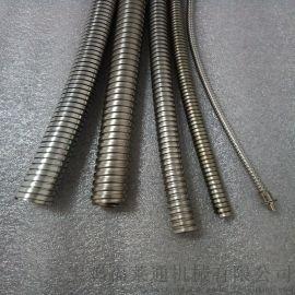 国标加厚建筑用双扣不锈钢金属软管内径25规格