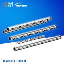 滚针V型不锈钢轴承滑动流水线性直线精密交叉滚子导轨保持架端板