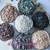 盘锦本格水磨石 水洗石 机制鹅卵石 砾石 彩色石子