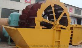 高效轮斗式洗砂机工作原理