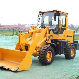 沃特 小型轮胎式装载机 多功能建筑工程农用铲车