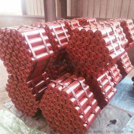 DTⅡ皮带机上槽形托辊 铸胶缓冲槽形托辊
