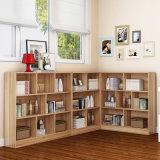 佛山简易家具儿童书架 图书馆板式书柜定制