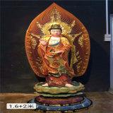 昌东生产大型铜西方三圣佛像 铜雕西方三圣厂家