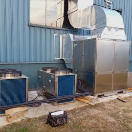 奥美特40KG大型电子产品仓库风冷型管道调温除湿机
