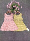 廣州童裝貨源供應純棉連衣裙目目大中小童系列