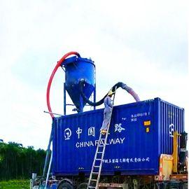 大型粮库吸灰机图片粉煤灰水泥仓库倒仓用气力输送机