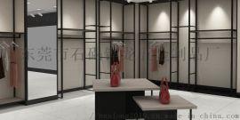 定制创意服装店展示架落地式上墙货架