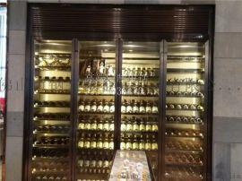 佛山厂家定制不锈钢酒柜