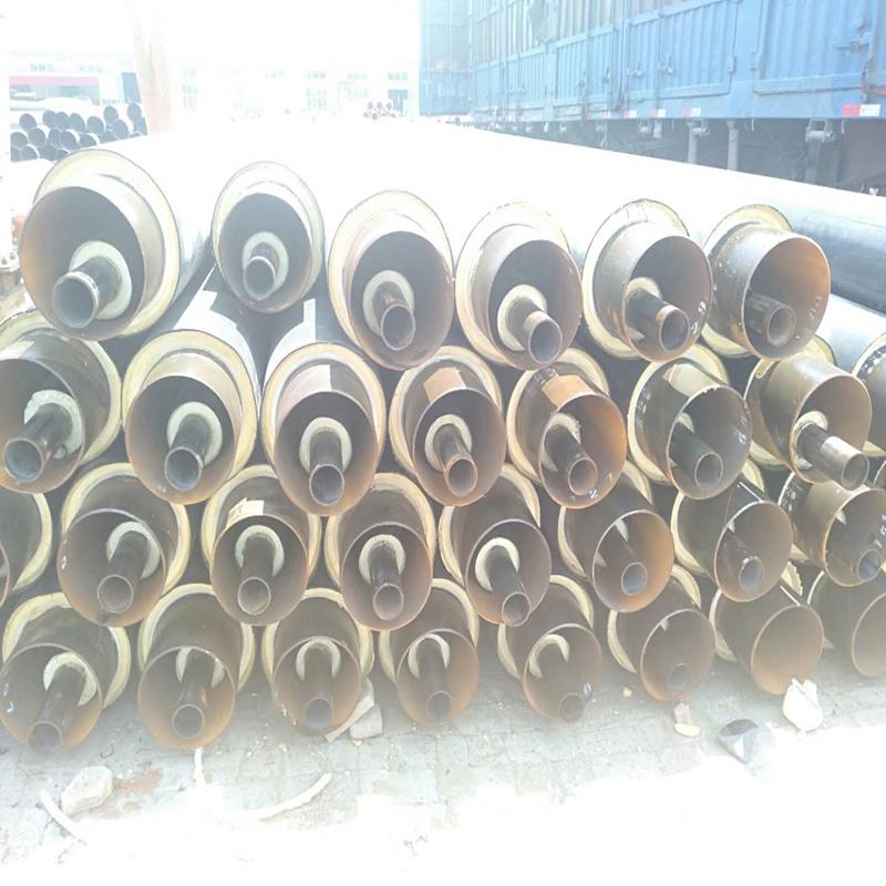 玻璃棉防腐空调保温管 聚乙烯夹克保温管
