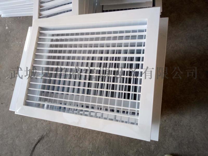 厂家批发定制各种铝合金百叶双层风口