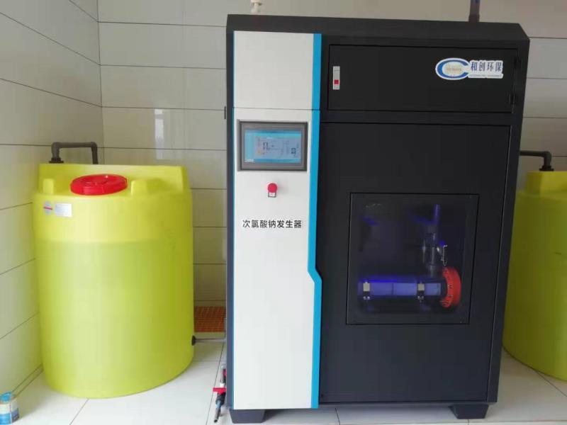 500克次氯酸鈉發生器/黑龍江水廠消毒設備案例