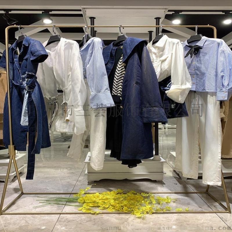 无色一诺直播直销走份打包,三家和时尚休闲女装棉麻