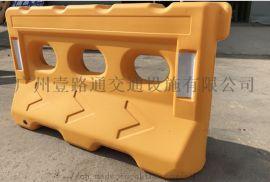 单孔多孔塑料水马交通安全警示防撞护栏